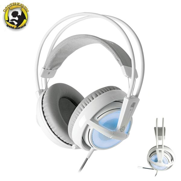 SteelSeries Siberia v2 Full-size Headset (Frost Blue Edition)
