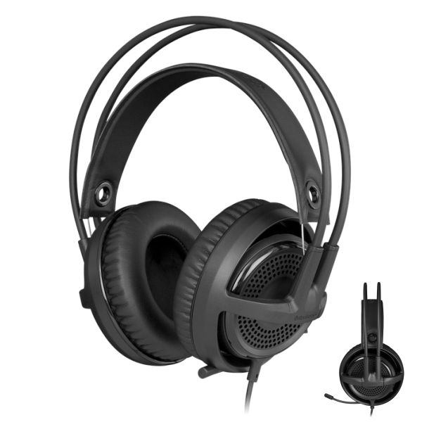 SteelSeries Siberia v3 Gaming Headset, black