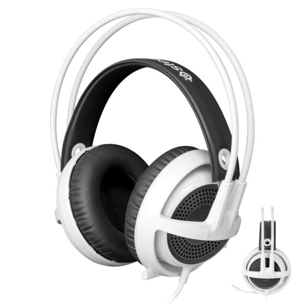 SteelSeries Siberia v3 Gaming Headset, white