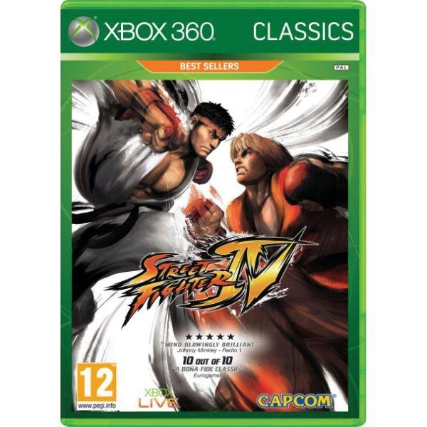 Street Fighter 4 [XBOX 360] - BAZÁR (použitý tovar)