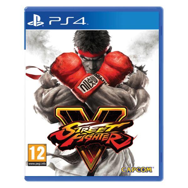Street Fighter 5 [PS4] - BAZÁR (použitý tovar)