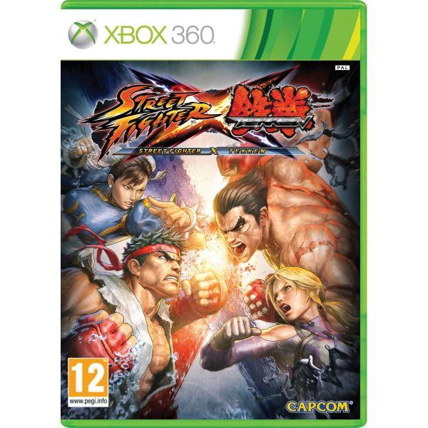 Street Fighter X Tekken XBOX 360 - BAZÁR (použitý tovar)