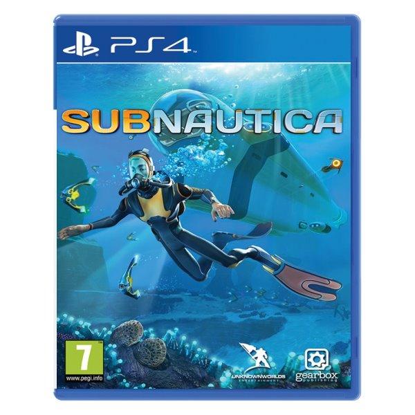 Subnautica [PS4] - BAZÁR (použitý tovar)