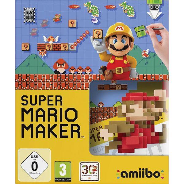 Super Mario Maker with Mario amiibo