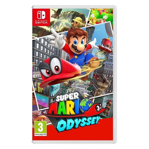 Super Mario Odyssey [NSW] - BAZÁR (použitý tovar)