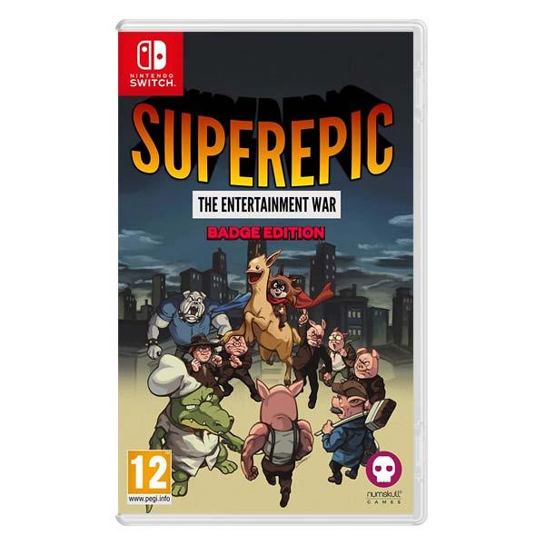 SuperEpic: The Entertainment War (Badge Edition)