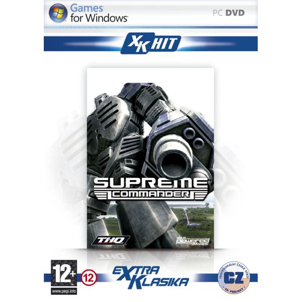 Supreme Commander CZ PC