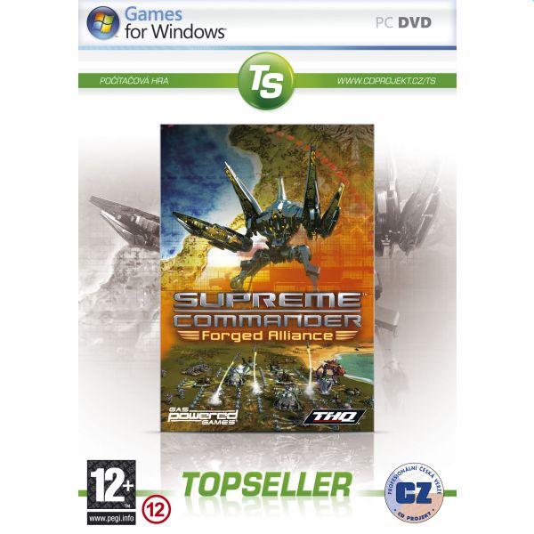 Supreme Commander: Forged Alliance CZ (TopSeller)