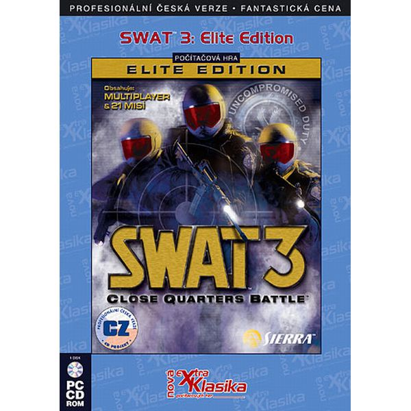 SWAT 3: Close Quarters Battle CZ (Elite Edition)