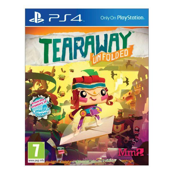 Tearaway: Unfolded [PS4] - BAZÁR (použitý tovar)