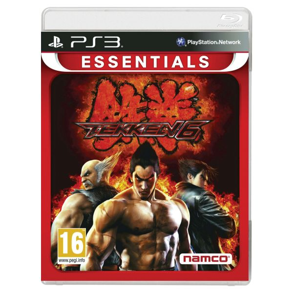 Tekken 6-PS3 - BAZÁR (použitý tovar)
