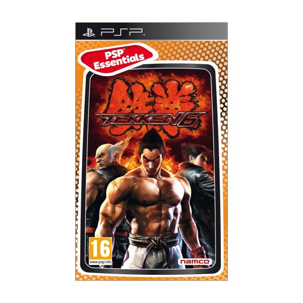 Tekken 6 [PSP] - BAZÁR (použitý tovar)