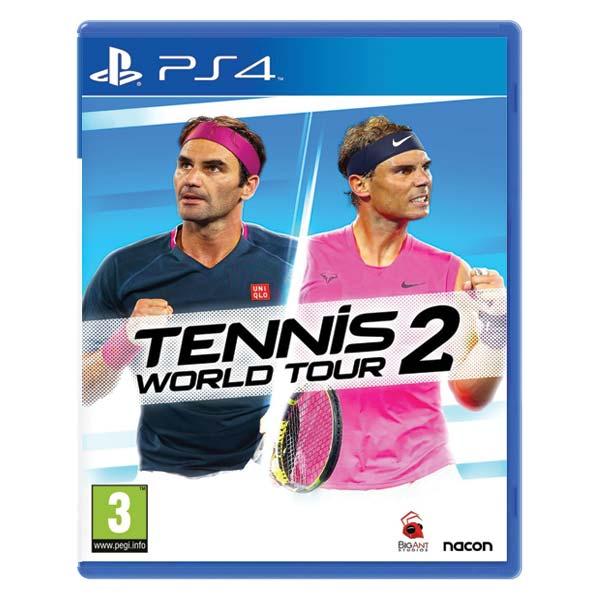 Tennis World Tour 2 [PS4] - BAZÁR (použitý tovar)