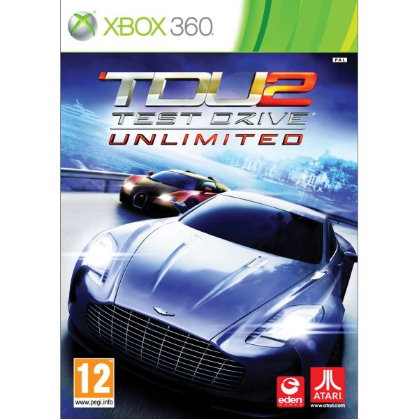 Test Drive Unlimited 2- XBOX 360- BAZÁR (použitý tovar)