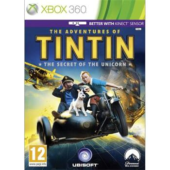 The Adventures of Tintin: The Secret of the Unicorn [XBOX 360] - BAZ�R (pou�it� tovar)