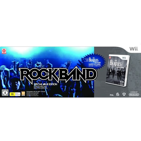 The Beatles: Rock Band (Special Value Edition) Wii