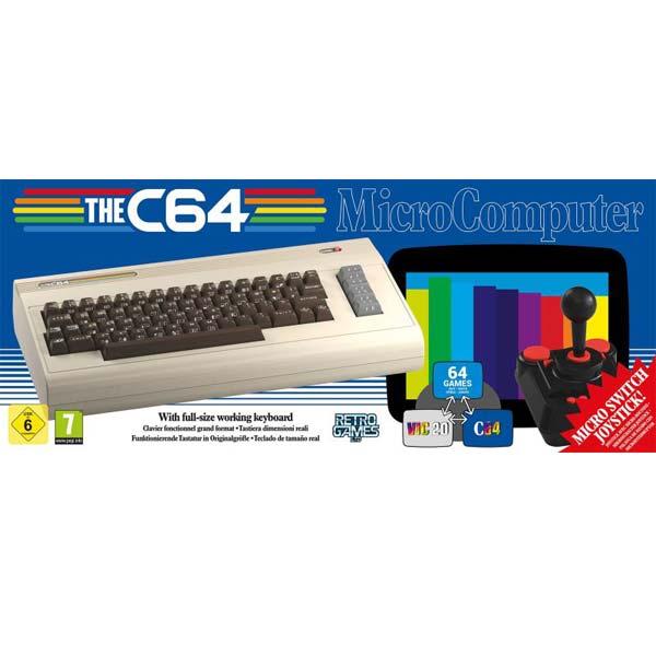 The Commodore C64 Maxi - OPENBOX (Rozbalený tovar s plnou zárukou)