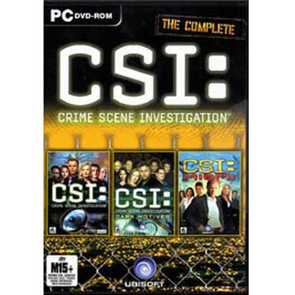 The Complete CSI: Crime Scene Investigation