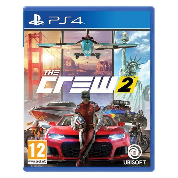 The Crew 2  [PS4] - BAZÁR (použitý tovar)