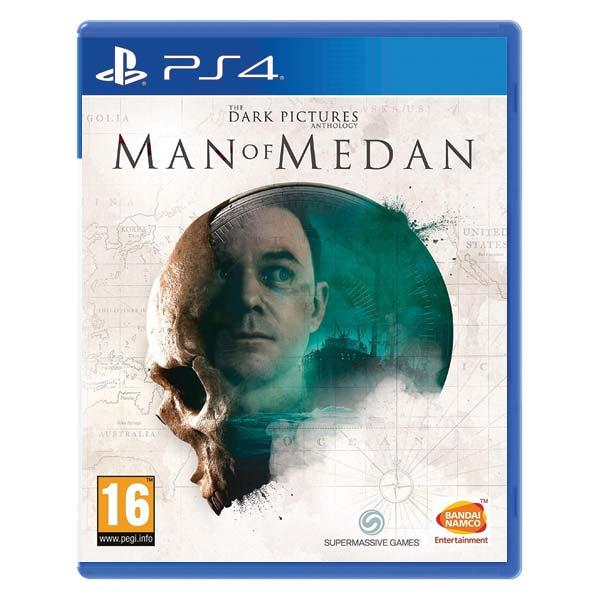 The Dark Pictures Anthology: Man of Medan [PS4] - BAZÁR (použitý tovar)