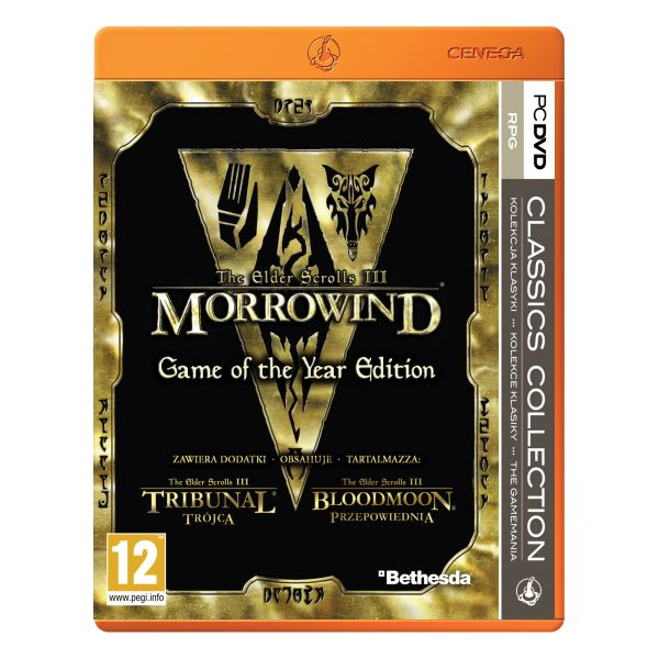 The Elder Scrolls 3: Morrowind (Game of the Year Edition)