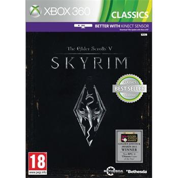 The Elder Scrolls 5: Skyrim - XBOX 360- BAZÁR (použitý tovar)