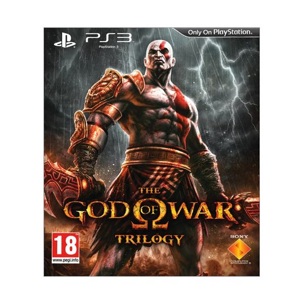 The God of War Trilogy [PS3] - BAZÁR (použitý tovar)