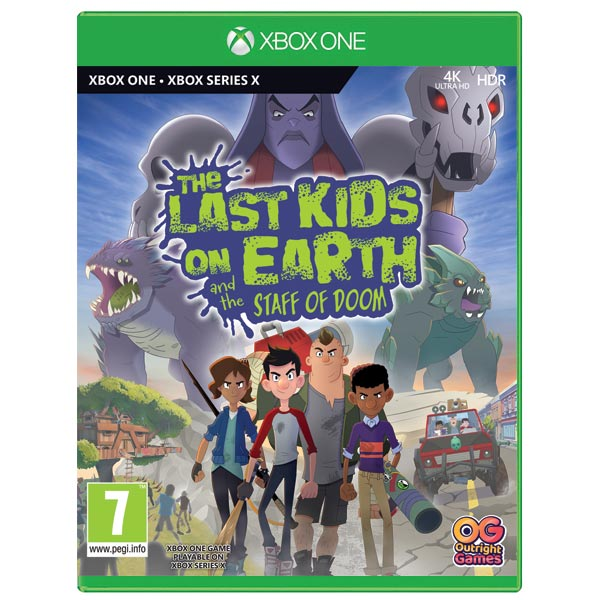 The Last Kids on Earth and the Staff of Doom XBOX ONE
