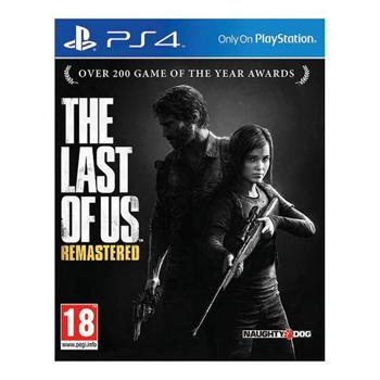 The Last of Us: Remastered CZ [PS4] - BAZÁR (použitý tovar)