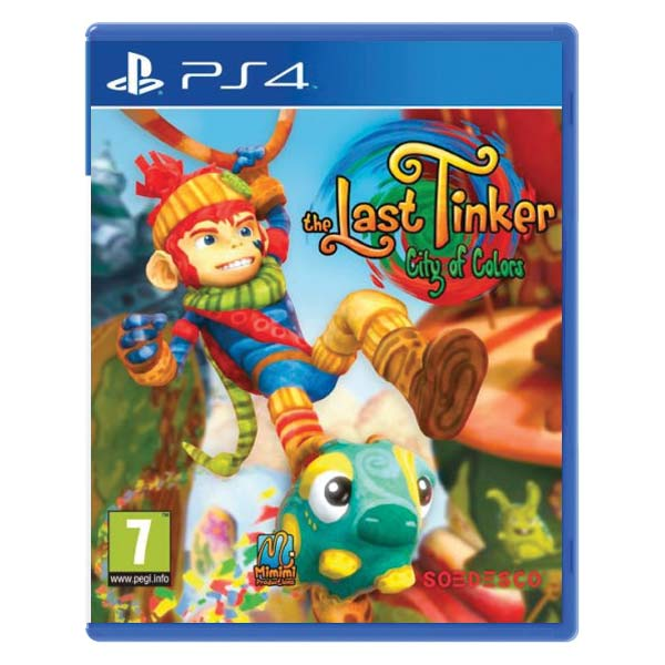 The Last Tinker: City of Colors PS4
