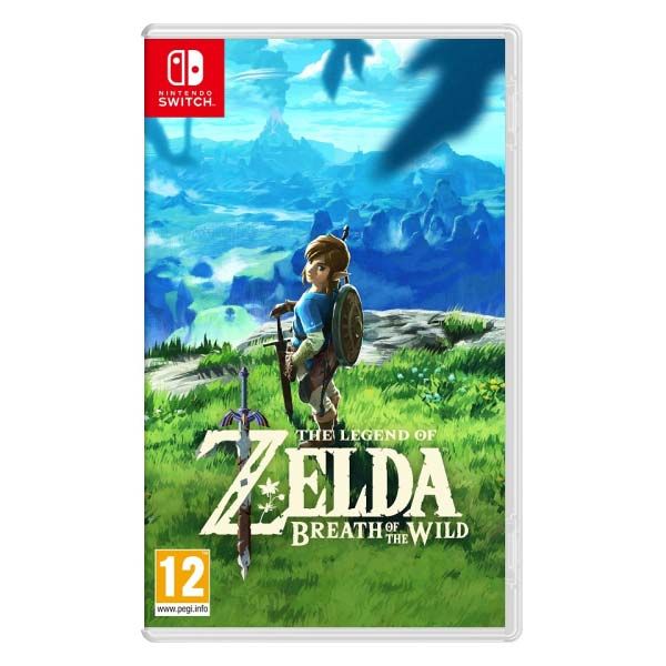 The Legend of Zelda: Breath of the Wild [NSW] - BAZÁR (použitý tovar)