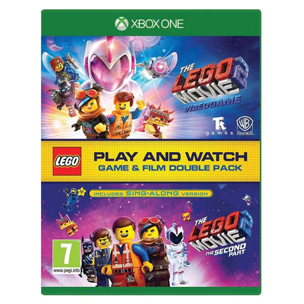 The LEGO Movie 2 Videogame (Game and Film Double Pack) XBOX ONE