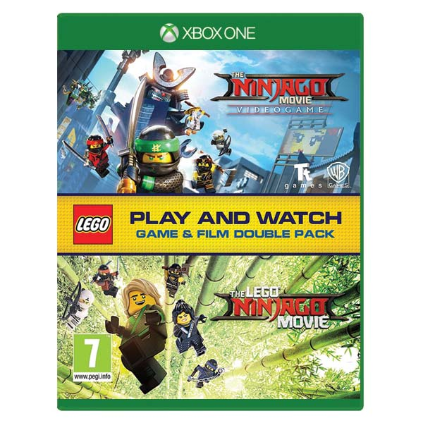 The LEGO Ninjago Movie Videogame (Game and Film Double Pack) XBOX ONE