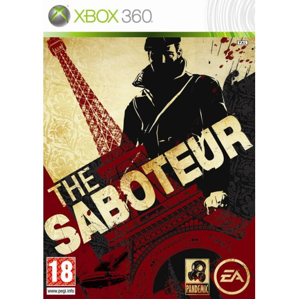 The Saboteur [XBOX 360] - BAZÁR (použitý tovar)