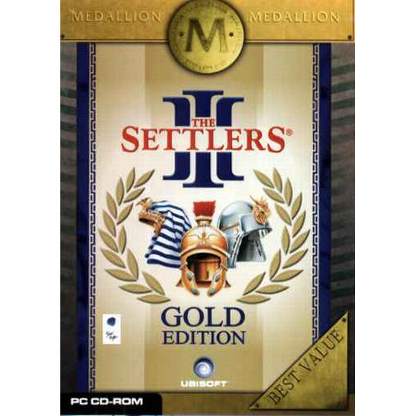 The Settlers 3 Gold Edition (Medallion)