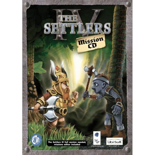 The Settlers 4: Mission CD
