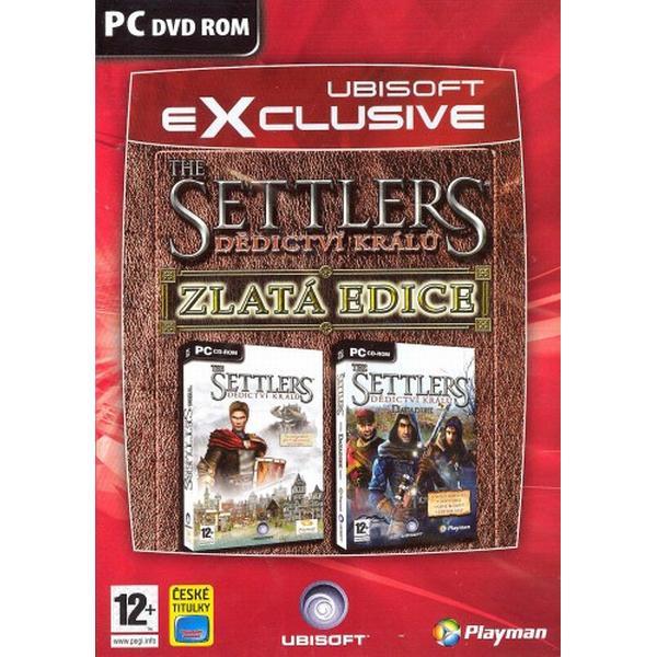 The Settlers: Dedičstvo kráľov Zlatá Edícia CZ
