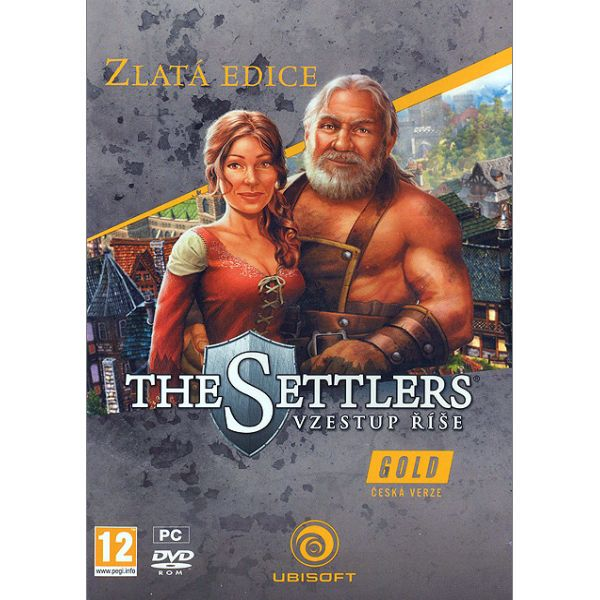 The Settlers: Vzostup ríše CZ (Zlatá Edícia)