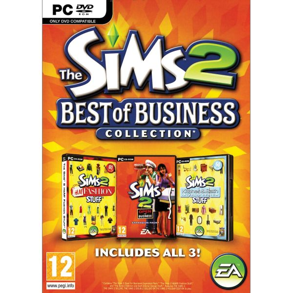 The Sims 2: Best of Business Collection CZ