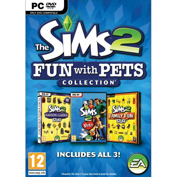 The Sims 2: Fun with Pets Collection CZ