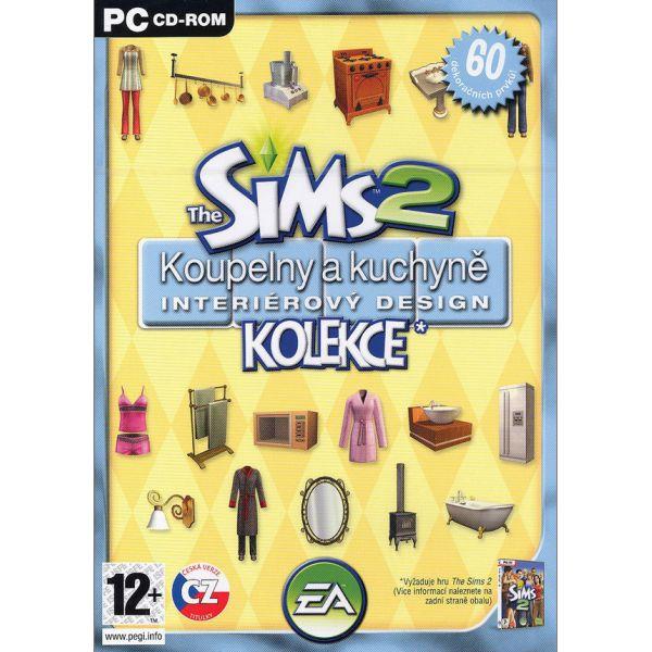 The Sims 2: Kúpeľne a kuchyne interiérový design CZ