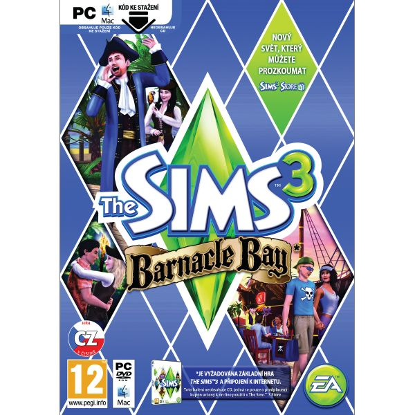 The Sims 3: Barnacle Bay CZ