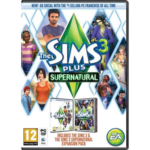 The Sims 3 CZ plus The Sims 3: Obludárium CZ