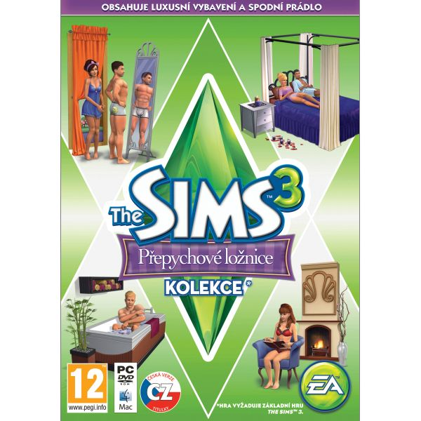 The Sims 3: Prepychov� sp�lne CZ