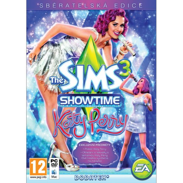 The Sims 3: Showtime CZ (Katy Perry Zberate�sk� Ed�cia)