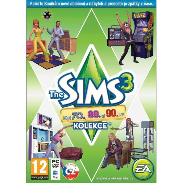 The Sims 3: Štýl 70., 80. a 90. rokov CZ