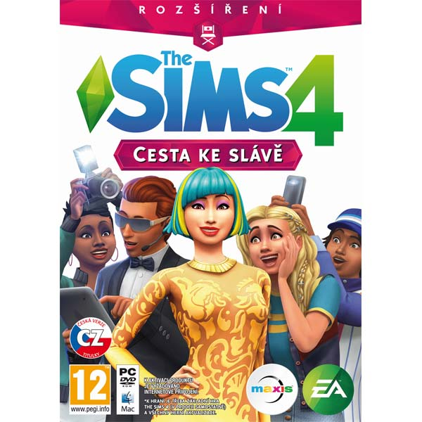 The Sims 4: Cesta ku sláve CZ PC CD-key