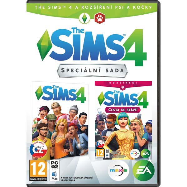 The Sims 4 CZ + The Sims 4: Cesta ku sláve CZ (špeciálna sada) PC
