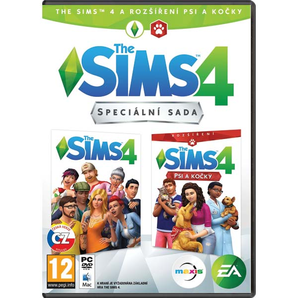 The Sims 4 CZ + The Sims 4: Psy a mačky CZ PC