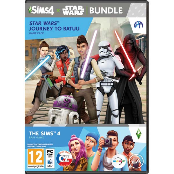 The Sims 4 CZ + The Sims 4 Star Wars: Výprava na Batuu CZ PC CD-key